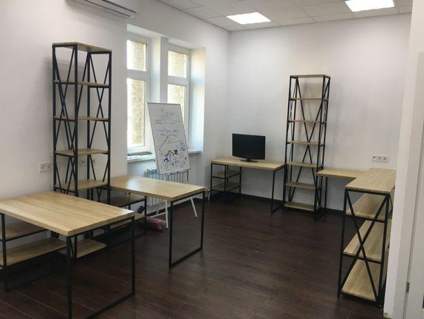 Виготовлення офісних меблів в стилі ЛОФТ на замовлення!