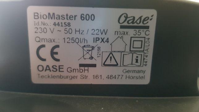 Oase biomaster 600 głowica filtra nigdy nie używana