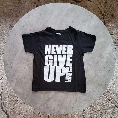 Koszulka piłka nożna Never Give up Liverpool Madryt na 7 8 lat russell