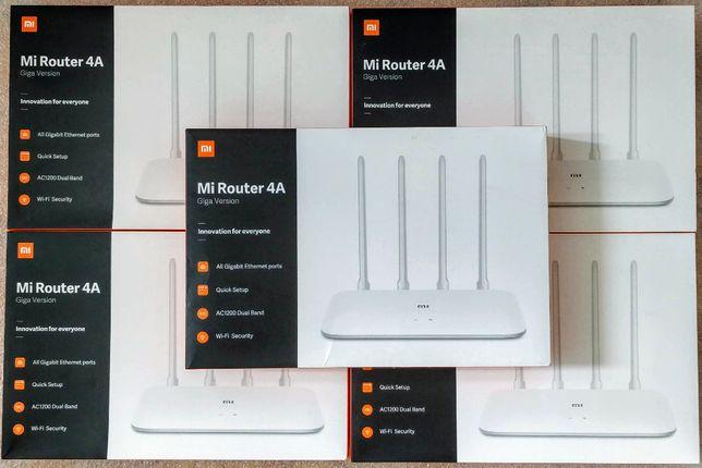 Роутер Xiaomi Mi WiFi Router 4A Gigabit Edition DVB4224GL Глобальная
