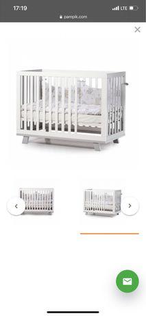 Детская кроватка Верес Манхэттен с маятником + матрас (бу)