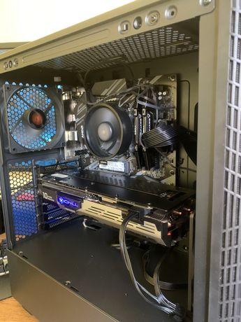 """Komputer gamingowy PC + monitor 4k 28"""" + mysz, klawiatura, słuchawki,"""