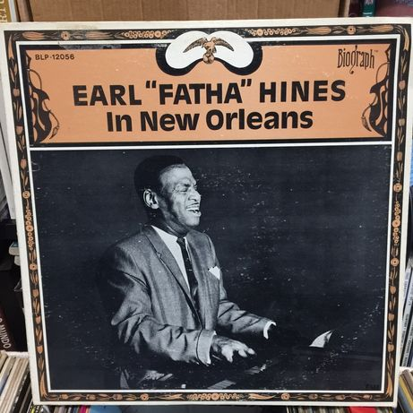 Vinil: Earl Fatha Hines - In the New Orleans - 1977