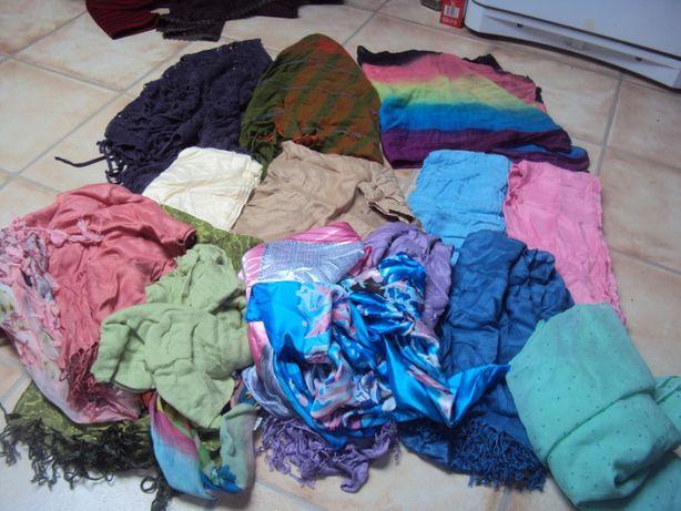 Szal chusta szalik komin różne kolory wszystkie 50 zł nowe apaszka