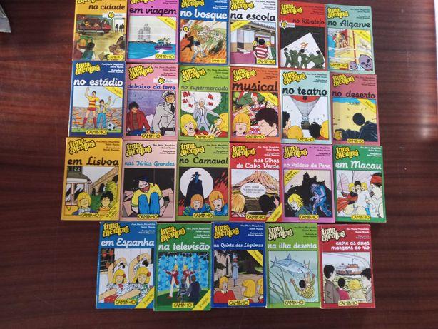 Colecçao de livros Juvenis UMA AVENTURA