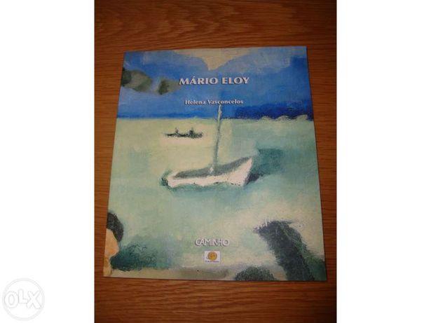 """Vendo livro """"Mário Eloy"""""""