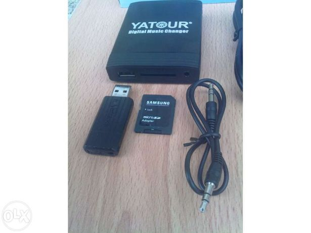 Yatour - Volvo, FORD, Mazda Adaptador mp3 p/ autoradios - Xcarlink