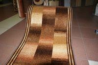 chodnik szer 100cm szachownica brown