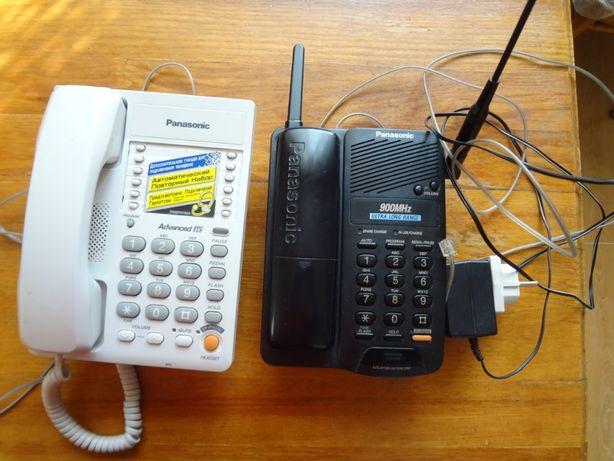 Радиотелефон Panasonik (Япония, можно на стену) и обычный
