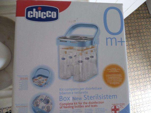 vendo kit completo de esterilizador de biberons da chicco