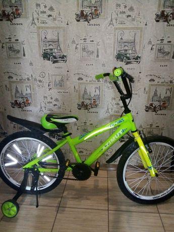 Детский велосипед 20 дюймов azimut