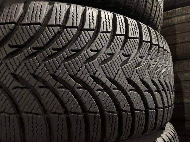 шины б/у зима 225/50 R17 Michelin Alpin 4 КАК НОВЫЕ