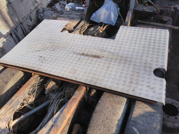 Platforma Podest roboczy Blacha aluminiowa na rame MAN TGA TGS TGX