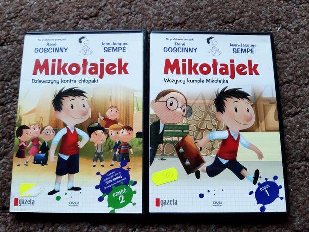 Mikołajek DVD - 2 części