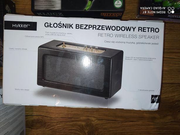 Sprzedam dwa nowe głośniki bezprzewodowe retro