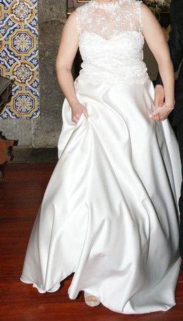 Vestido noiva Branco Pérola