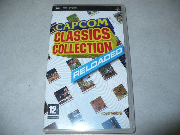 Capcom Classics Collection na Psp