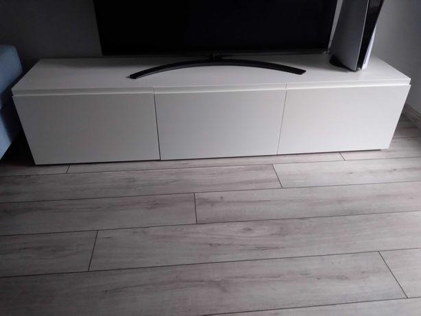 Ikea besta 180 RTV biały połysk