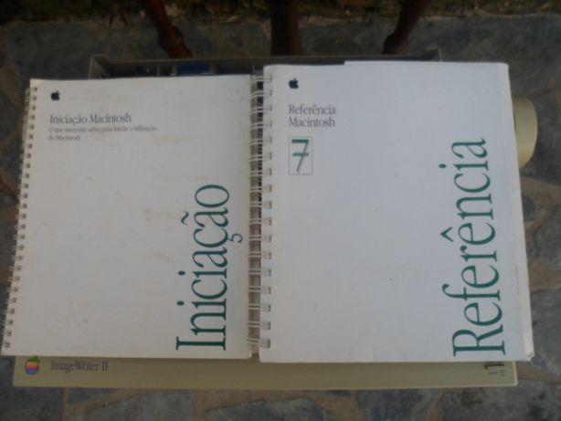 Livros Macintosh 2 unidades vintage
