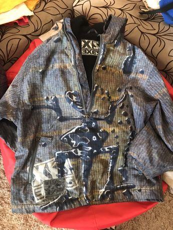 Куртка ветровка 140см