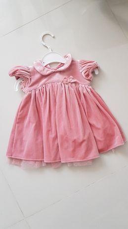 Elegancka sukieneczka Next baby 0-3 miesiące