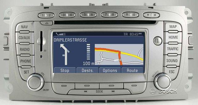 Radio ford nawigacja fx nx, Naprawa focus mondeo c-max, menu pl.