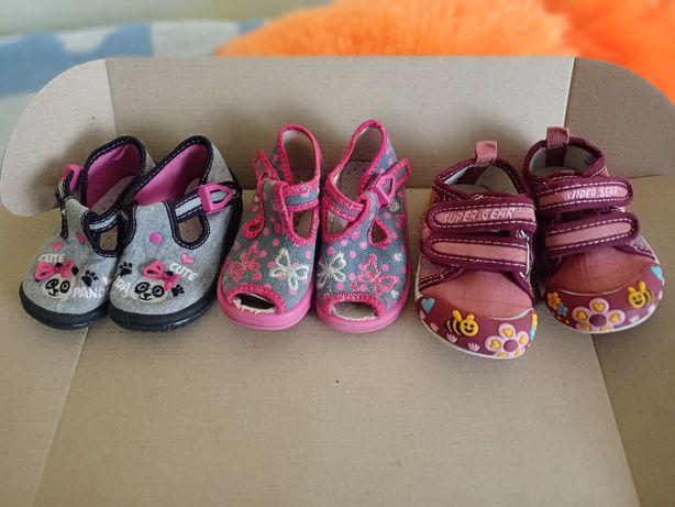 Комплект взуття для дівчинки весна-літо 18, 19,20 р