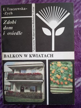 Balkon w kwiatach. E. Tarczewska-Zych