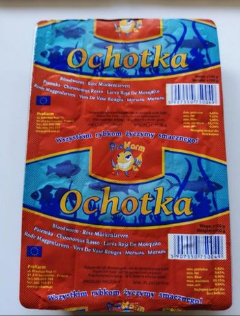 Ochotka pokarm dla ryb ul. Korczaka1