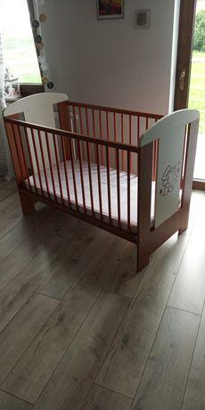 Łóżeczko dziecięce 120x60 z materacem