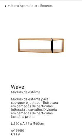 Oporunidade - 3 Estantes Wave - Area store