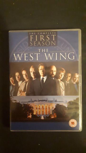 West Wing prezydencki poker sezon 1 dvd