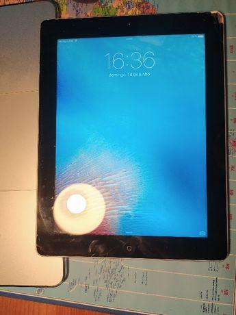 iPad 3ª geração 64g Wi-Fi + Celular com carregador