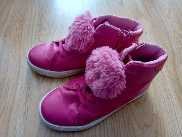 Buty przejściowe dla dziewczynki, rozm. 31