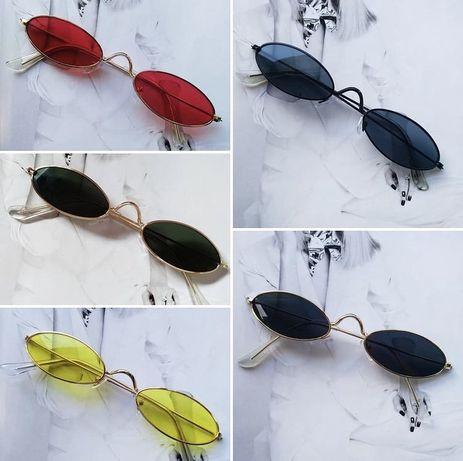 Трендовые очки овалы/капли/ кошечки