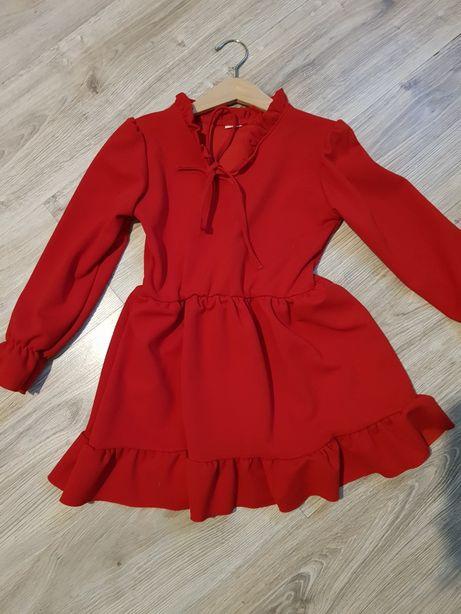 Sukienka 116 + sweterek coccodrillo