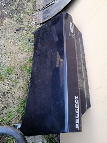 Скло крило кришка багажника пежо 605