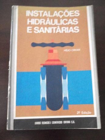 Livro Instalações hidráulicas e sanitárias, Hélio Creder