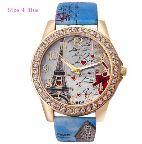 Nowy Zegarek z wieża Eifla