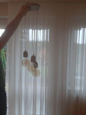 Kamplet lamp do salonu