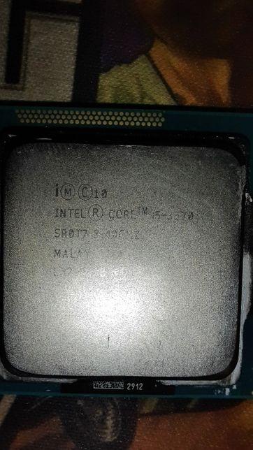 Процесор i5 3570 4ядра 3,4ghz Turbo Boost 3,80 GHz socket 1155. 77w