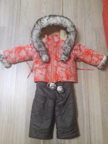 Курточка с комбинезончиком