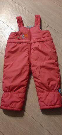 Ocieplane spodnie firmy Wójcik