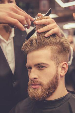 Модель на мужскую стрижку