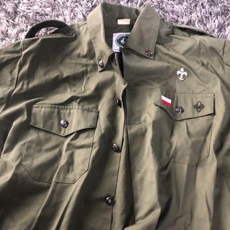 Koszula harcerska+pasek+czapka