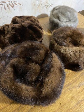 Меховые шапки