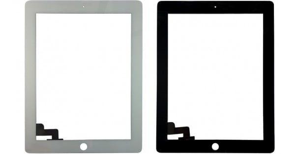 Vidro/Touch para Ipad 2 - Branco e Preto