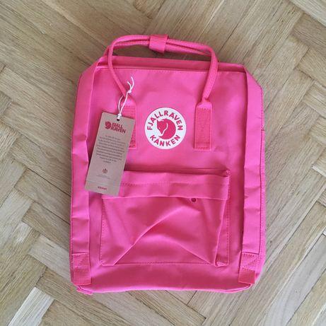 Nowy plecak fjallraven kanken 16l classic malinowy/pink