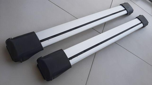 Bagażnik dachowy samochodowy Whispbar belki ciche