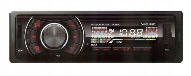 Radio samochodowe VK z USB MP3 Bluetooth